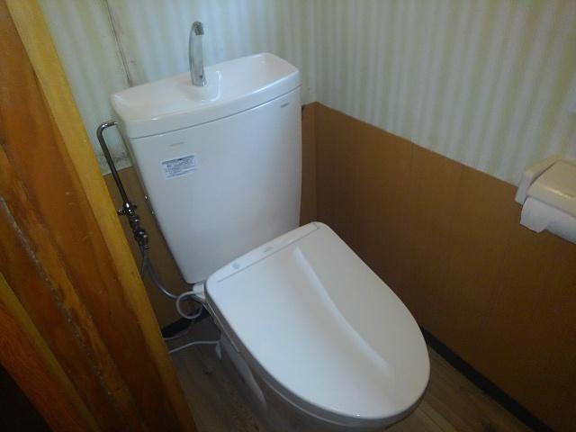 岩国市室の木町 和式トイレリフォーム 洋式トイレ