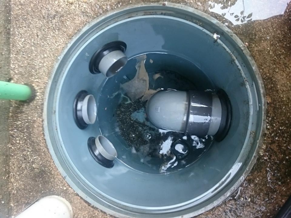 周南市秋月 下水つまり除去 高圧洗浄