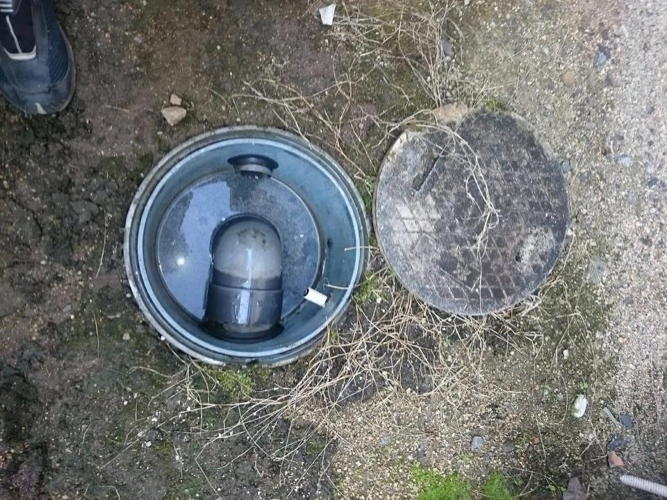 岩国市周東町 排水管つまり除去 高圧洗浄