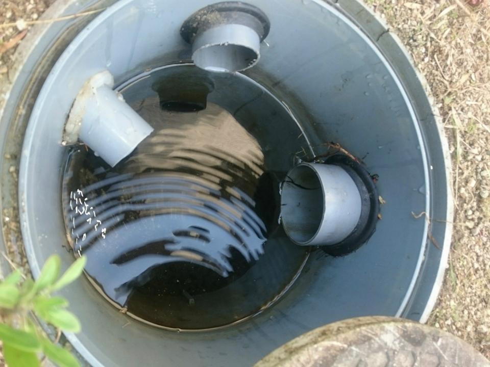 岩国市新港町 排水つまり除去
