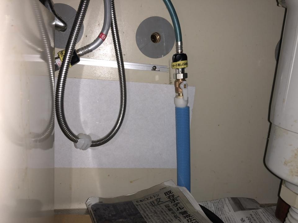 岩国市黒磯町 水道管修理 水漏れ修理