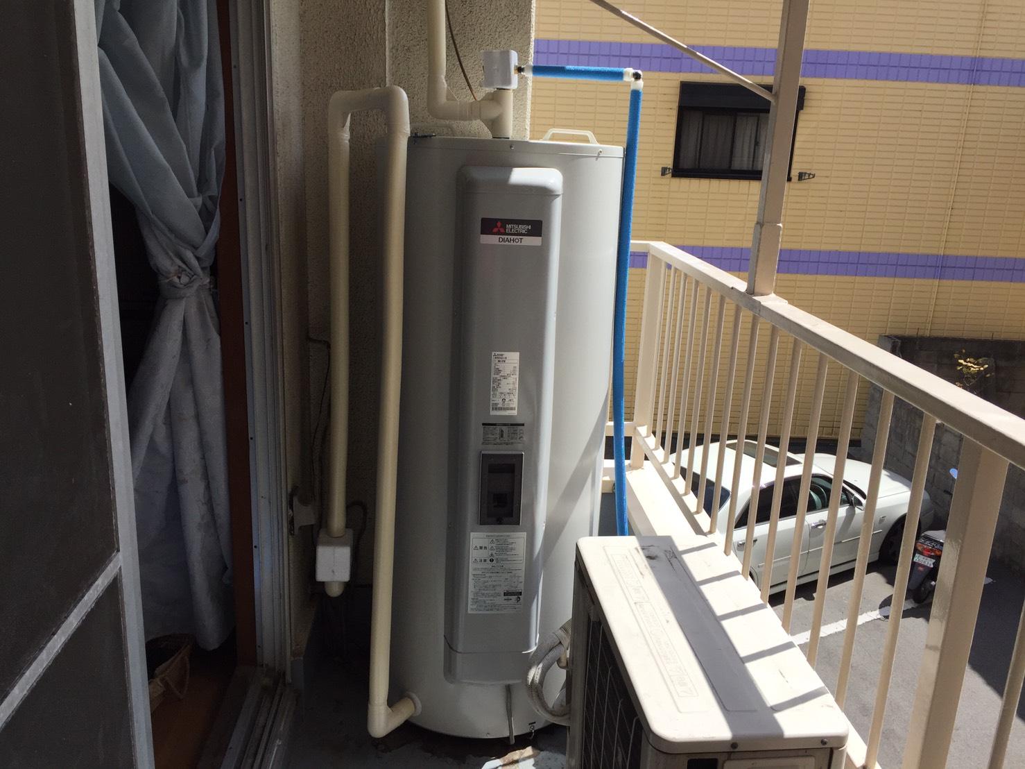 岩国市愛宕町 電気温水器交換工事 ネクストプラン