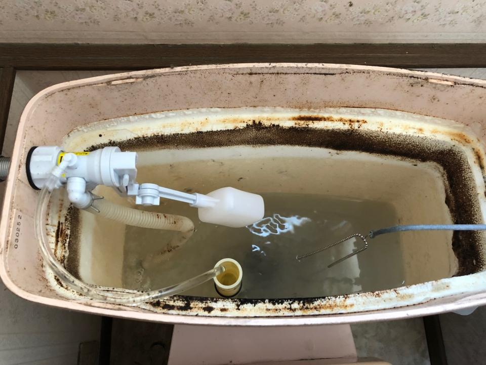柳井市南浜 トイレ水漏れ修理 ネクストプラン