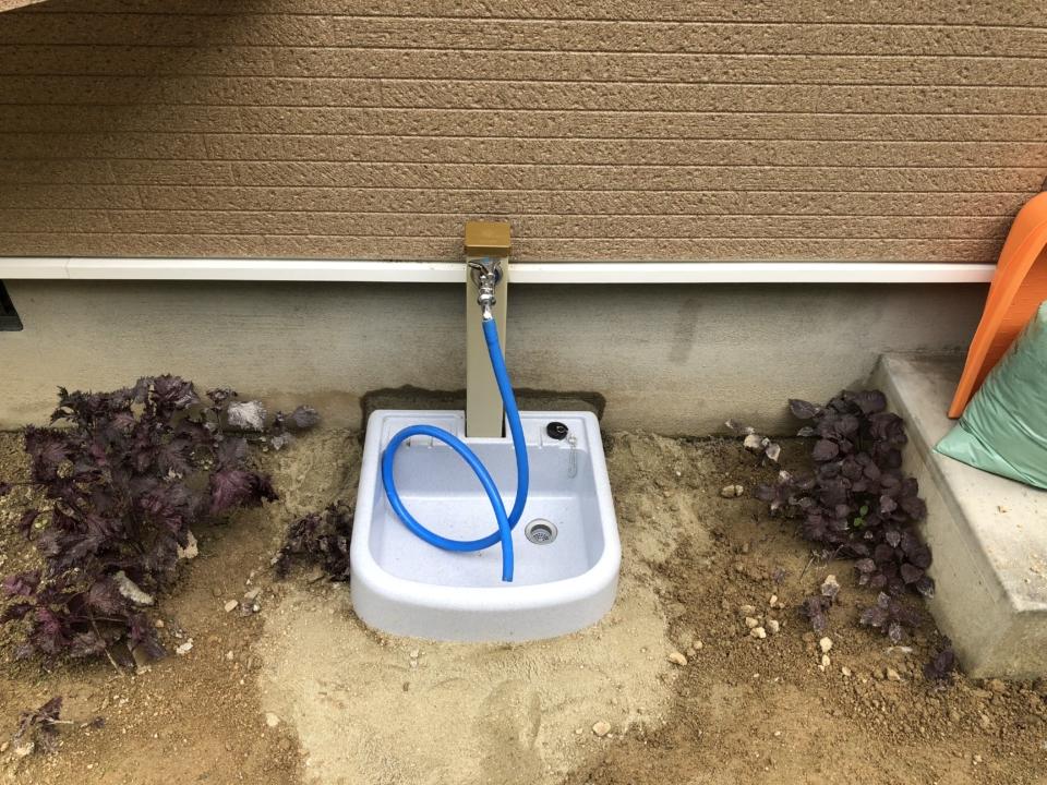 下松市末武下 水道管修理 水栓柱交換