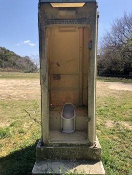 下松市 仮設トイレ