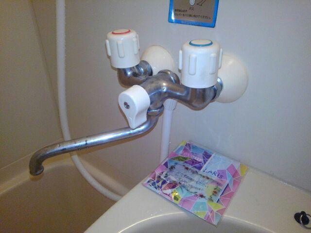 周南市浴室シャワー水栓パッキン交換